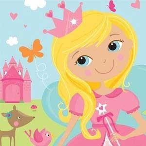 Prinzessinnen Motto Kindergeburtstag