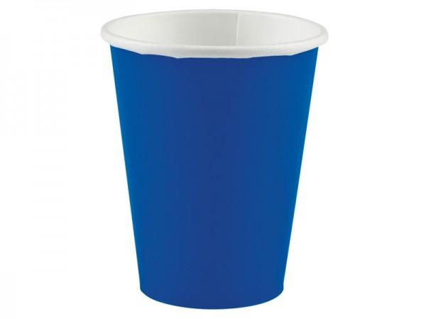 Partybecher blau Pappbecher
