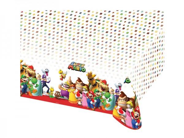 Super Mario Tischdecke für die Mario Geburtstagsparty