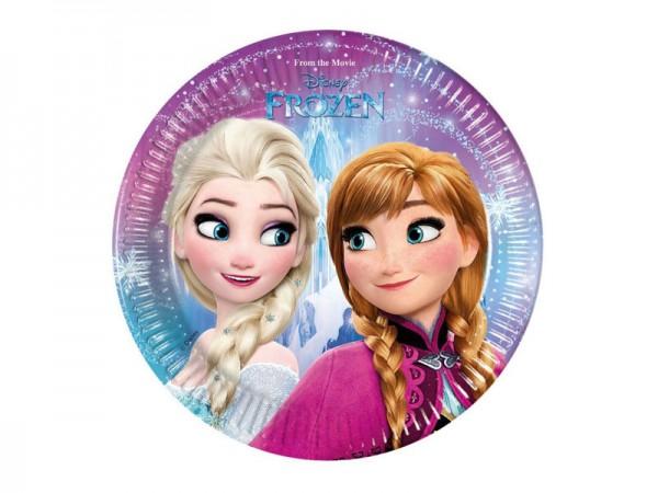 Pappteller Frozen Die Eiskönigin Partyteller