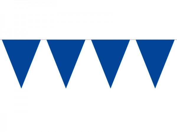 Wimpelkette dunkelblau 10m