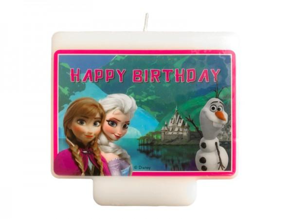 Geburtstagskerze Frozen Die Eiskönigin Große Kerze