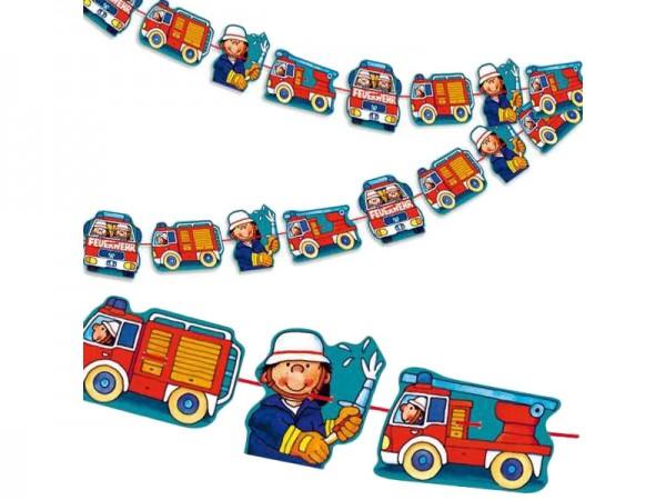 Girlande Feuerwehr