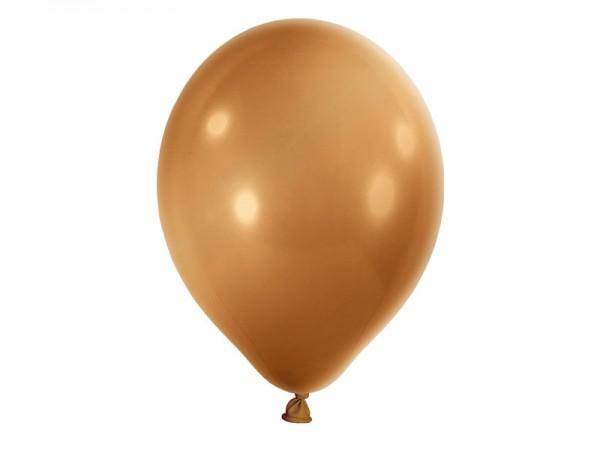 Luftballons gold Latexballons