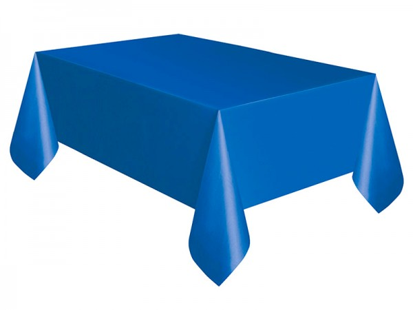 Tischdecke blau Tischtuch