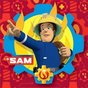 Feuerwehrmann Sam Geburtstagsdeko