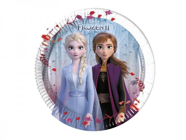 Pappteller Frozen 2 Die Eiskönigin Partyteller