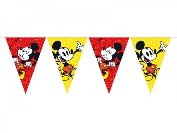 Wimpelkette Mickey Mouse Wimpelgirlande