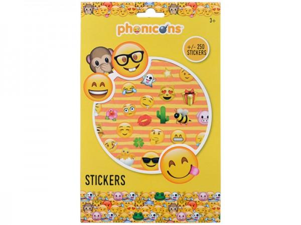 Sticker Emoji Smilies Aufkleber