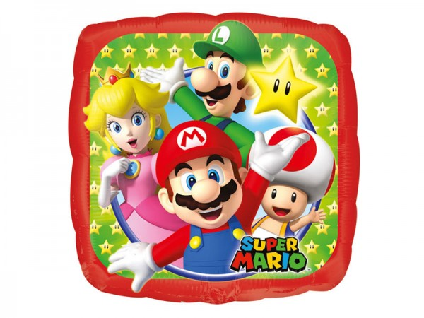 Folienballon Super Mario Ballon Mario