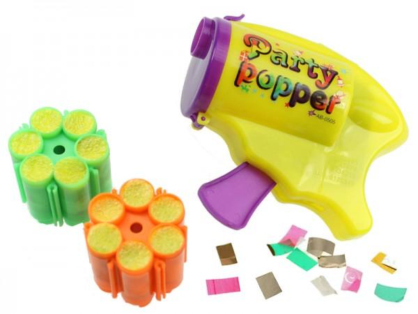 Konfettipistole Party Popper Konfetti Kanone