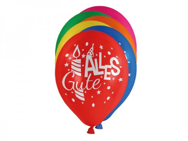 Luftballons Alles Gute