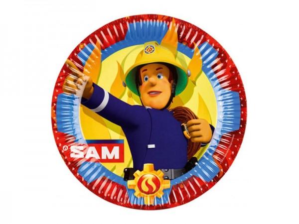 Pappteller Feuerwehrmann Sam Partyteller