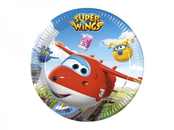 Pappteller Super Wings Partyteller