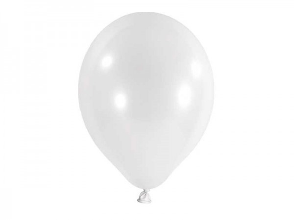 Luftballons weiß Latexballons