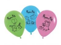 Luftballons Peppa Wutz Latexballons Peppa Pig