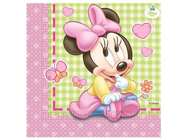 Servietten Baby Minnie Mouse