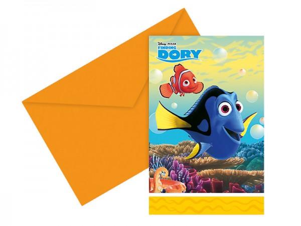 Geburtstagseinladungen Findet Nemo Einladungskarten Findet Dorie