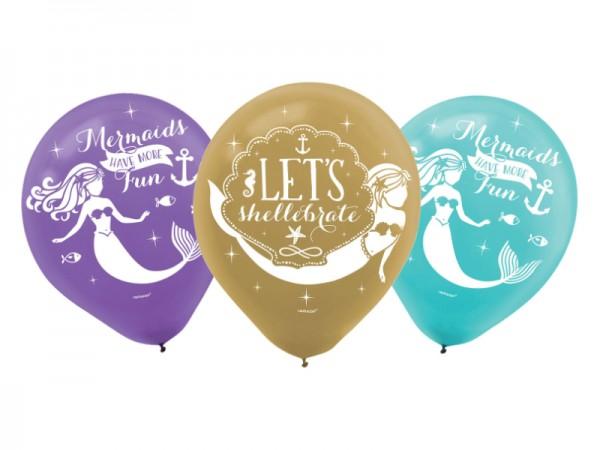 Luftballons Meerjungfrau Ballons Mermaid