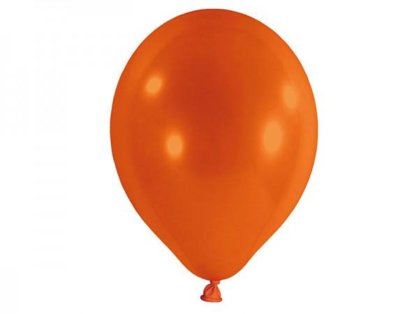 Luftballons orange Latexballons