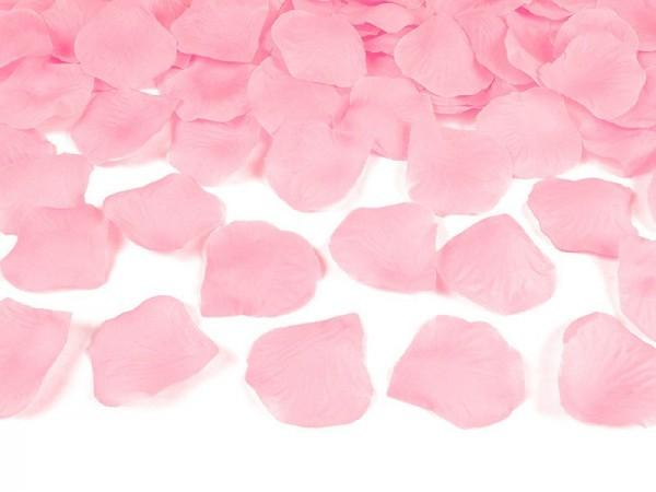 Deko Rosenblätter rosa