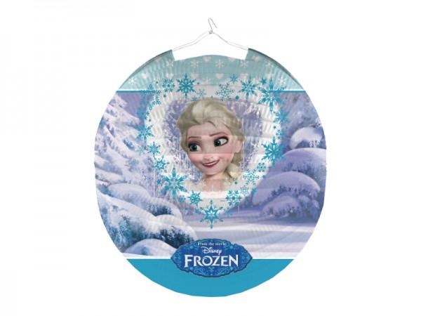 Frozen Lampion mit Elsa und Anna Motiv