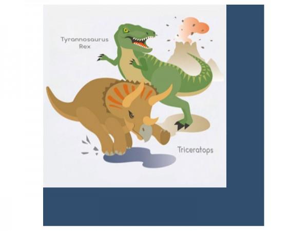 Servietten Dinosaurier