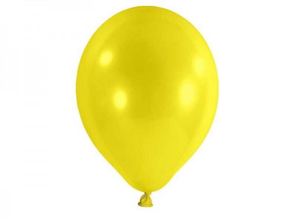 Luftballons gelb Latexballons