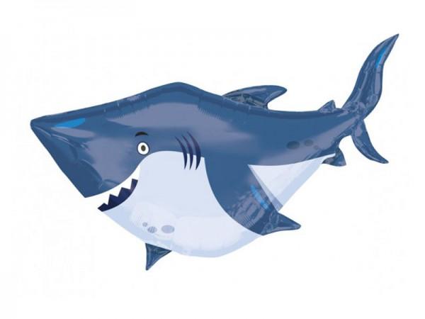 Folienballon Hai Fisch