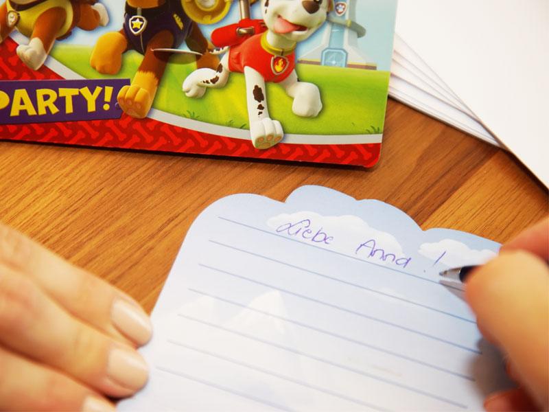 Texte und Ideen für Geburtstagseinladungen schreiben