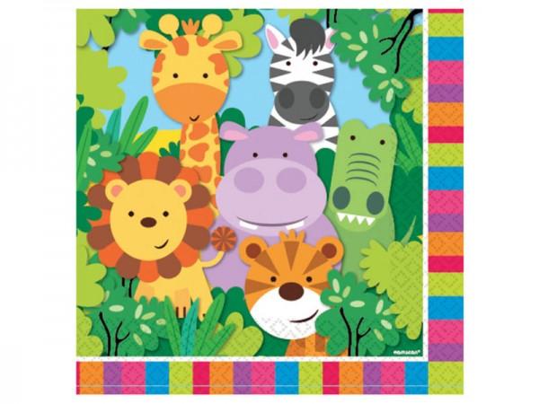 Servietten Dschungeltiere Safari
