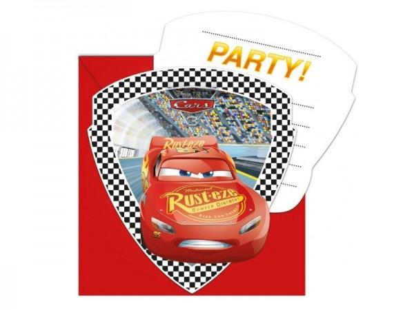 Geburtstagseinladungen Cars Einladungskarten Kindergeburtstag
