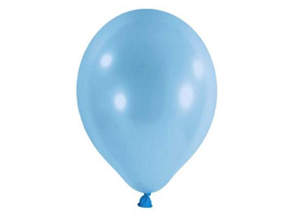 Luftballons hellblau Latexballons