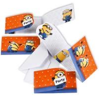 Einladungskarten Minions