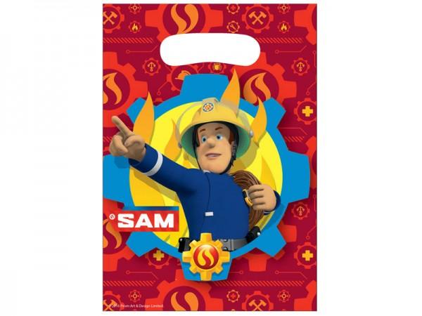 Mitgebseltüten Feuerwehrmann Sam Partytüten Feuerwehr Geschenktüten