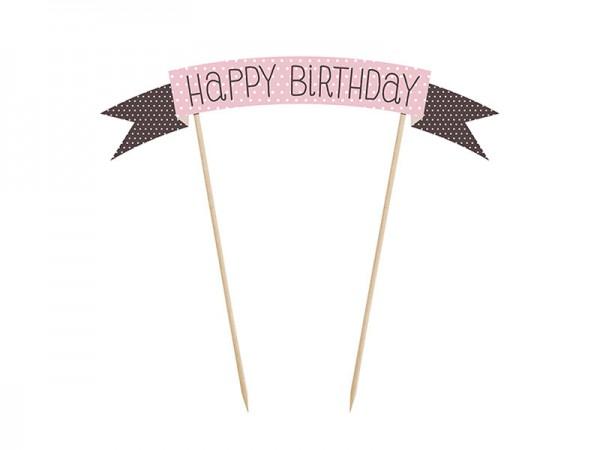 Tortendeko Happy Birthday Cake Topper