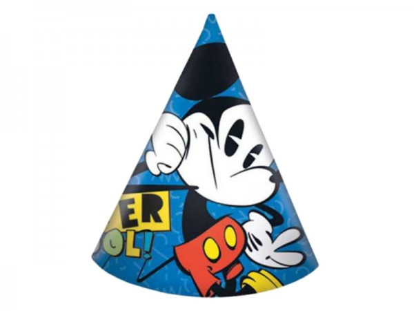 Partyhüte Mickey Mouse blau