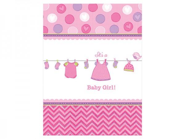 Tischdecke Baby Shower Girl Babyparty Mädchen