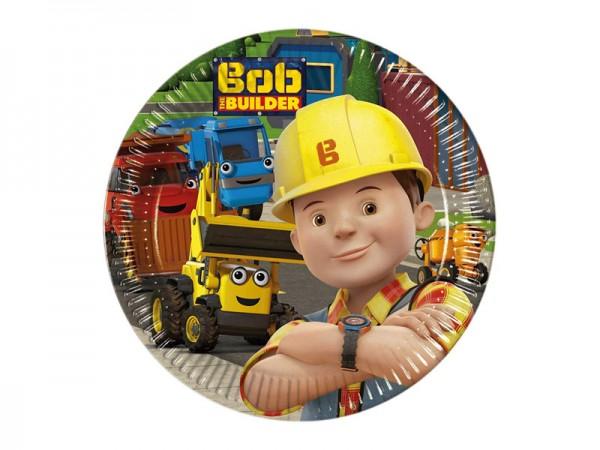 Pappteller Bob der Baumeister Partyteller