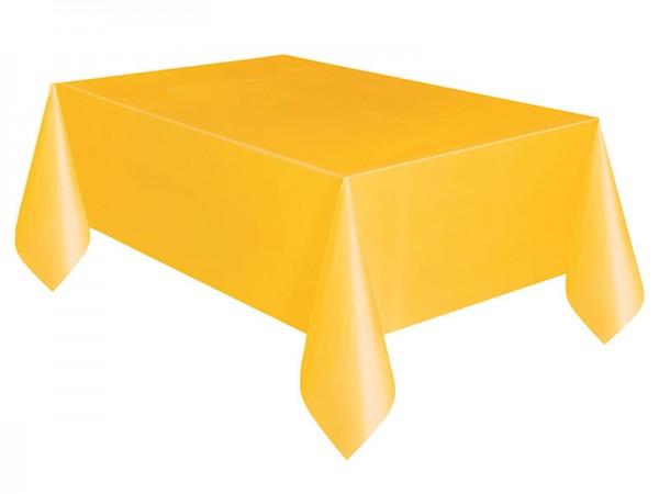 Tischdecke gelb Tischtuch