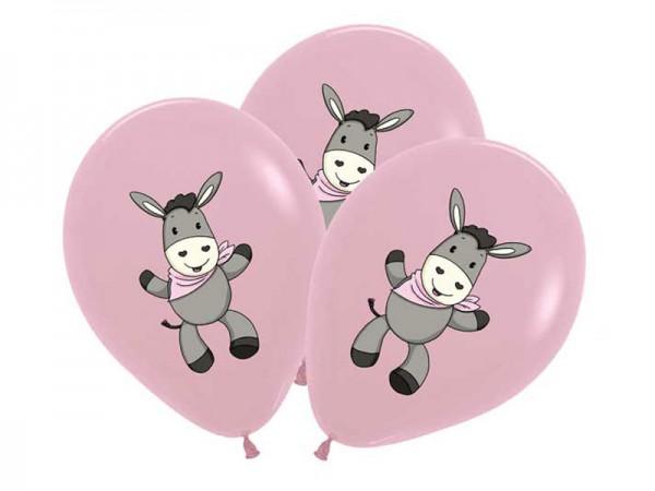 Luftballons Esel rosa