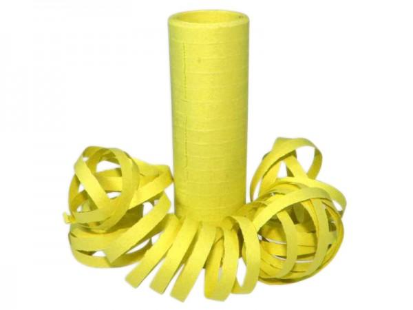 Luftschlangen gelb