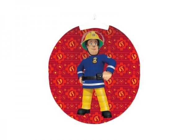 Lampion Feuerwehrmann Sam Laterne rot