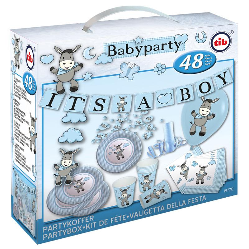 Babyparty Deko für Jungen