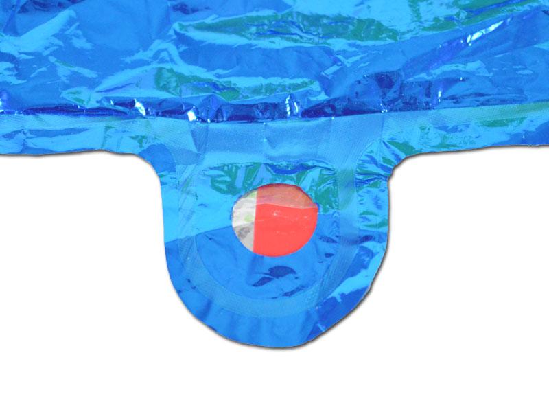 Füllloch eines Folienballons 1