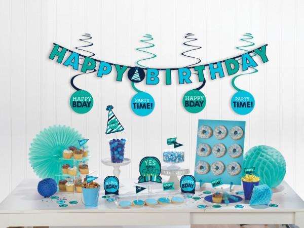 Geburtstagsdeko-Set für Jungs