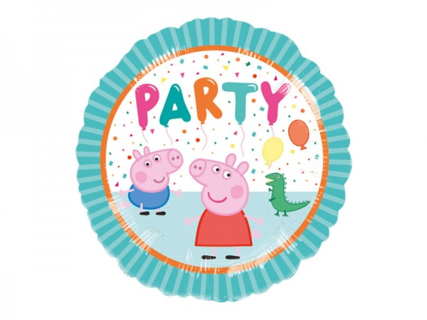 Peppa Wutz Folienballon für den Kindergeburtstag