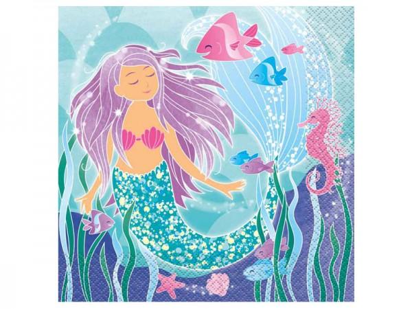 Servietten Meerjungfrau