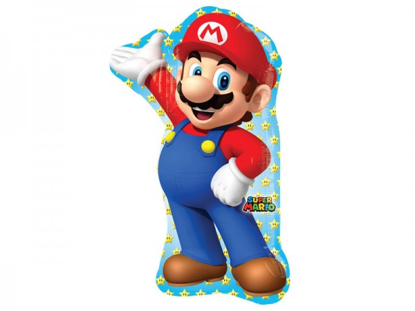 Folienballon Super Mario Folienluftballon Ballon Mario