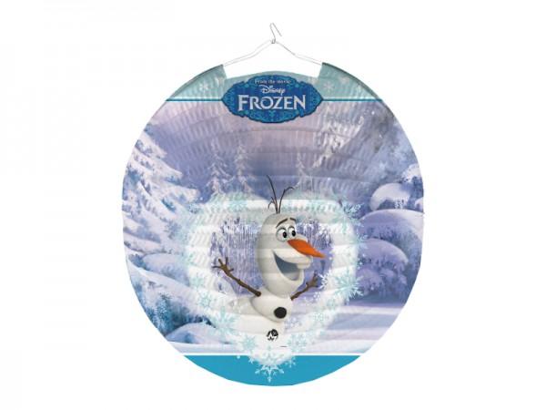 Frozen Lampion mit Olaf Motiv